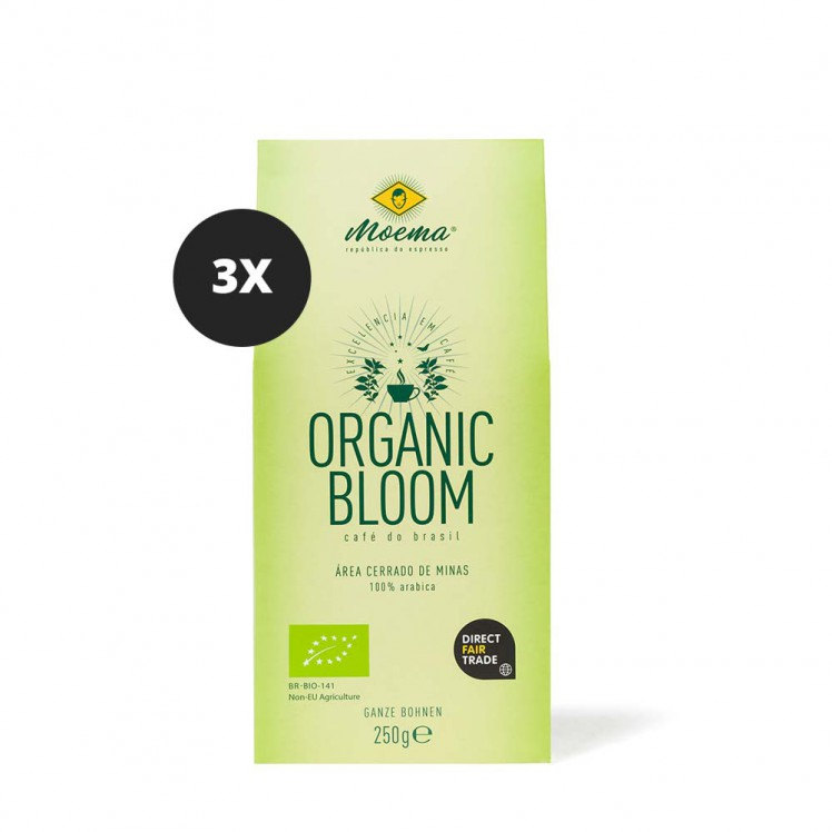 Moema | Organic Bloom | 3er Set | 750g