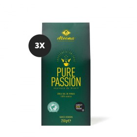 Moema | Espresso-Kaffee | Pure Passion | 3er Set | 750g