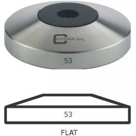 Concept Art | Base Flat | Tamper-Unterteil | 53mm