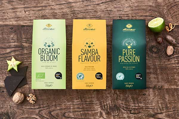 Unsere Spitzenkaffee: Samba Flavour, Organic Bloom, Pure Passion